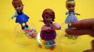 Funny Balloons Cartoon Fun Playtime video  with Frozen, Anna and Disney  with Rhymes and more !