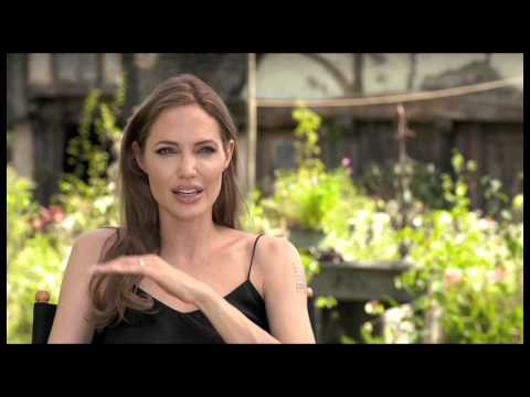 Angelina Jolie 'Maleficent' Interview