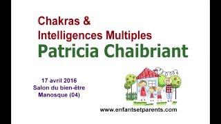 Conférence chakras et intelligences multiples - Manosque