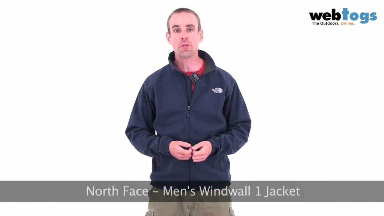 94d385f67 North Face Men's WindWall 1 Fleece Jacket - Keep wind off your back with  this windproof fleece.