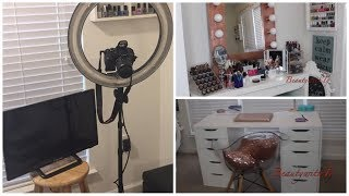 A Tour of My Youtube Studio| Beginner Friendly| 2018| BeautywithTy