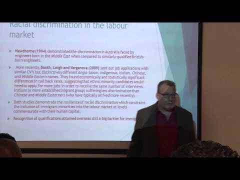 Prof Jock Collins - Australian Multiculturalism