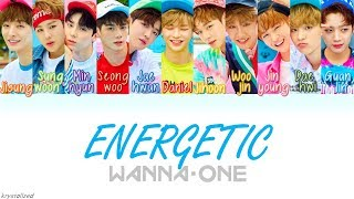 Gambar cover Wanna One (워너원) - Energetic (에너제틱) [HAN|ROM|ENG Color Coded Lyrics]