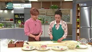 최고의 요리 비결 - 김영빈의 참나물 깨된장국과 고추소스 숙주볶음_#002