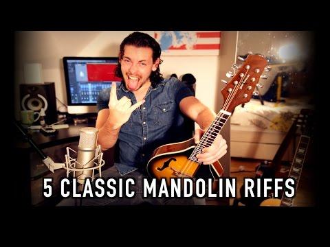 5 Classic Mandolin Riffs!