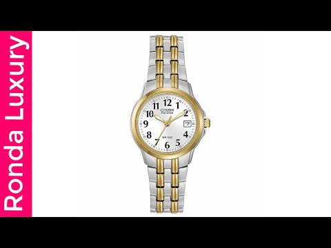 Citizen Women's Eco-Drive Watch With Date EW1544-53A