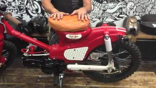 honda c90 street cup full gas motorcycles