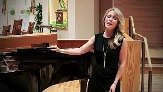 """Sarah Coburn sings """"Will There Really Be a Morning?"""" by Ricky Ian Gordon"""
