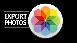 Export photos, videos from Photos on Macbook pro, iMac, Mac mini, Mac Pro