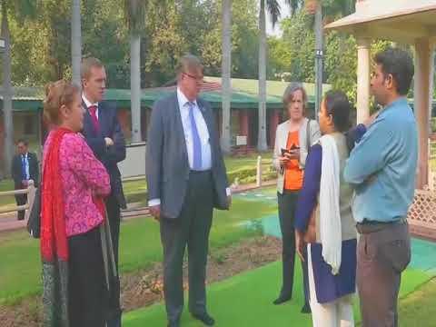 Finnish finance minister meetsIndian counterpart in New Delhi