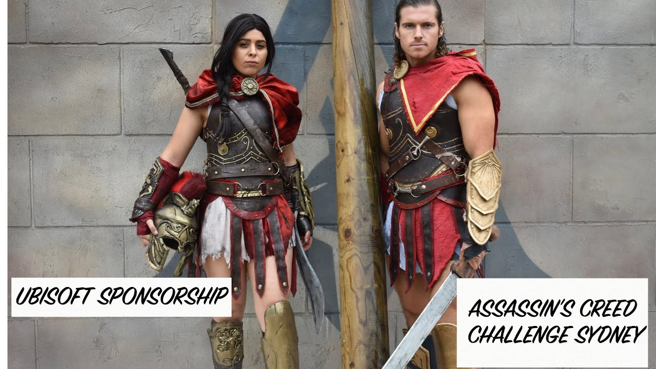 Ubisoft Sponsorship Assassin S Creed Odyssey Ft Cosplay Chris
