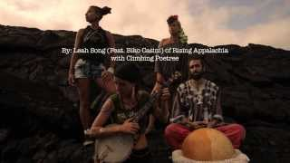 Climbing Poetree, Leah Song , and Biko Casini of Rising Appalachia. Spirits Cradle