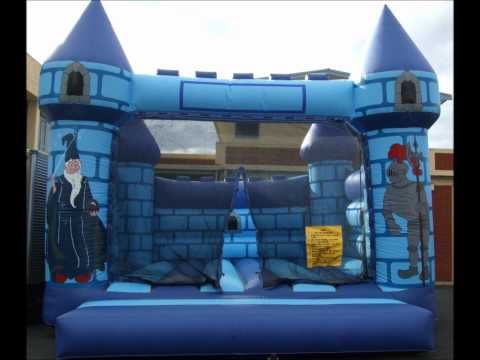 Bouncy Castles & Children's Party Entertainment Dunedin - Video Tech Party Hire Dunedin NZ