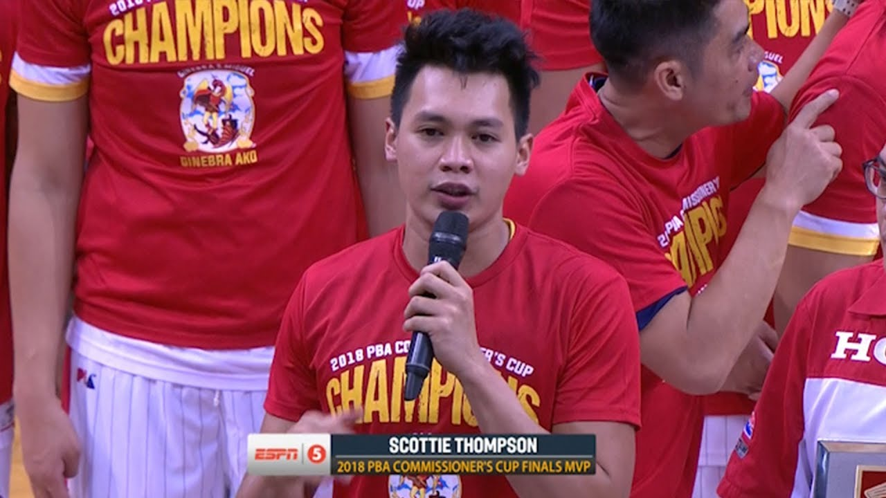 Download Scottie Thompson is the Finals MVP | PBA Commissioner's Cup 2018
