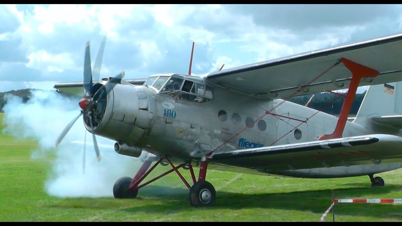 Antonov AN-2   T...C 17 Takeoff Video