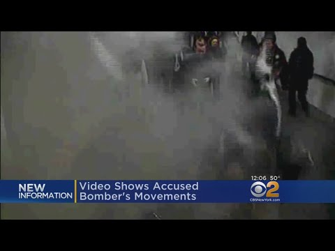 New Video Shows Accused Port Authority Pipe Bomber's Movements
