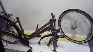 Сборка немецкого городского велосипеда Bergamont 14' 28