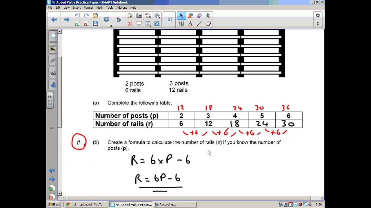 National 4 Maths Added Value Unit Paper 2 - YouTube