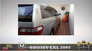 Camioneta honda odissey 2007 exl como nueva