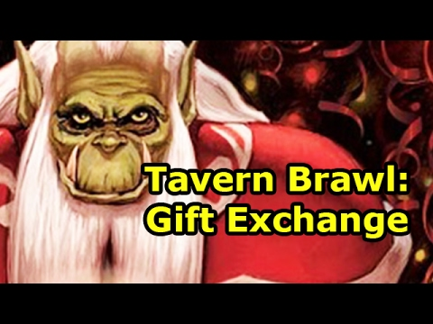Hearthstone Tavern Brawl: Gift Exchange - YouTube