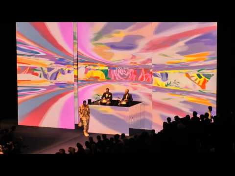 Hang Massive & Streamcolors Video Art Live in Milan for ETRO