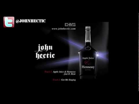 John Hectic - Apple Juice & Hennessy Promo Vid ((prod by John hectic & Kane Pharris))