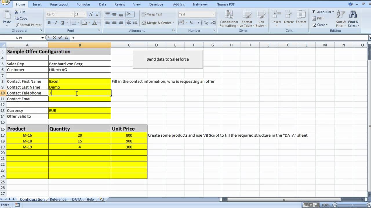 product pricing calculator excel