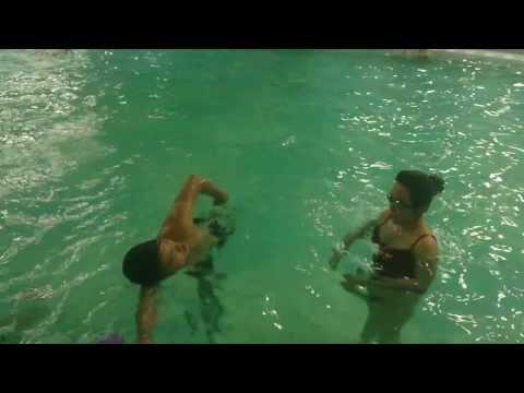 Học Bơi cấp tốc - Dạy Bơi Sải - Kỹ thuật bơi sải cơ bản ( tập thở)