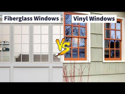 best fiberglass windows difference between vinyl and fiberglass windows easy nirman youtube