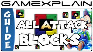 All Attack Block Locations: Mario & Luigi: Dream Team - Guide & Walkthrough