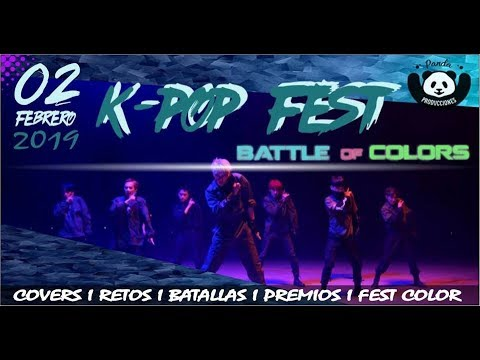 K POP FEST CHICLAYO BATTLE OF COLORS