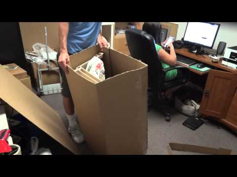 eBay University : How to pack large items for shipping.