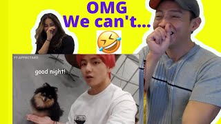 BTS being a mess on vLive   BTS funny moments   reaction video