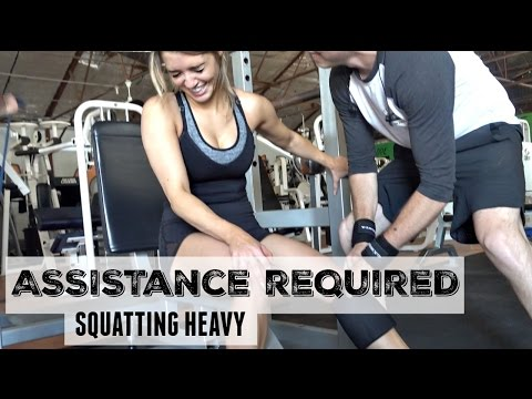 Assistance Required | Squatting Heavy