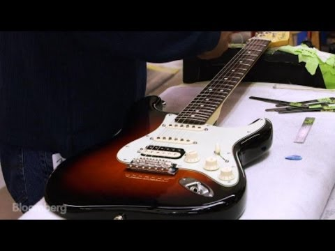 See How Eric Clapton's Fender Guitar Gets Made
