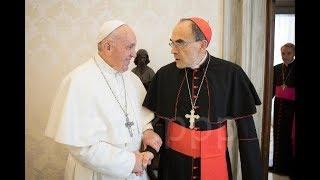 Démission du cardinal Barbarin : le pape François va t-il trancher ?