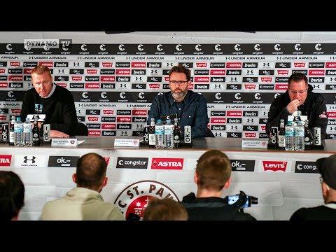 15. Spieltag | FCSP - SGD | Pressekonferenz nach dem Spiel