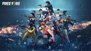 Free fire gaming with squad
