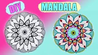 DIY: Рисую МАНДАЛА ● Мой новый скетчбук ● Doodle, Zentangle MANDALA(ПОДПИСЫВАЙТЕСЬ♥♥♥ Подписаться на мой канал: https://www.youtube.com/user/camellia... ♥♥♥Моя группа Вконтакте:♥♥♥..., 2016-01-29T18:19:56.000Z)