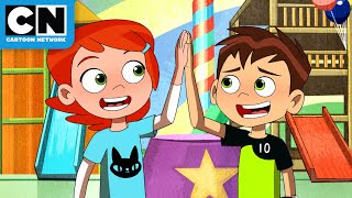 Best Ben and Gwen Moments | Ben 10 | Cartoon Network