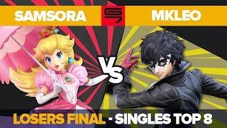 Samsora vs MkLeo - Losers Final: Top 8 Ultimate Singles - Genesis 7 | Peach vs Joker