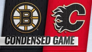 Boston Bruins vs Calgary Flames – Oct.17, 2018 | Game Highlights | NHL 18/19 | Обзор матча