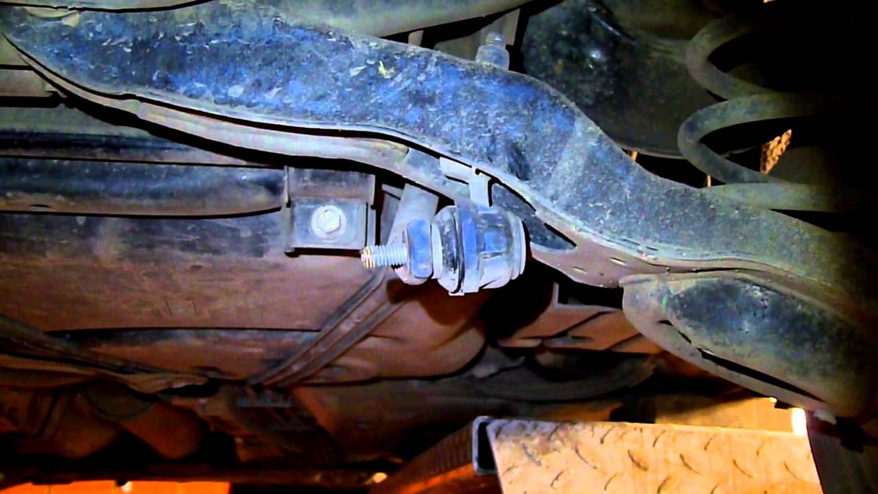 Замена втулки заднего стабилизатора форд мондео 3