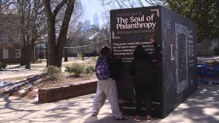 The Soul of Philanthropy Reframed and Exhibited