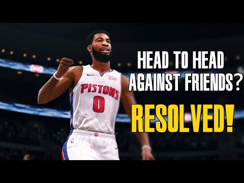 How To Play An Online Ranked Match Against A Friend In NBA Live 18