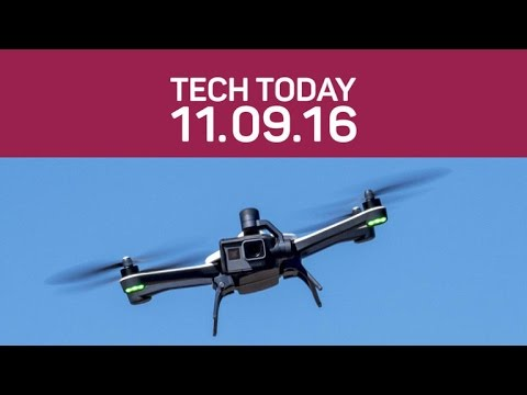 GoPro recalls Karma drones and Facebook challenges LinkedIn (Tech Today)