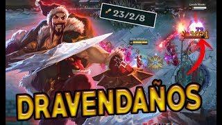 PEDAZO FEDEO QUE ME HE METIDO CON SANTA DRAVEN | League of Legends | Drake Rajanj