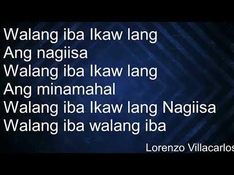 Walang IBA - Ji Ar  Lyrics