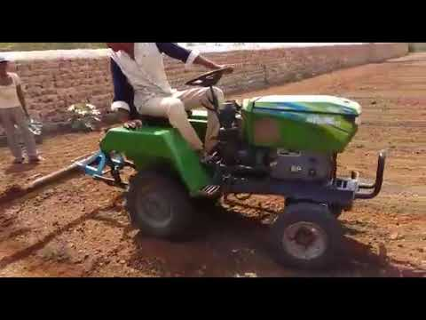 kirloskar Power tiller modified into a four wheeler tractor