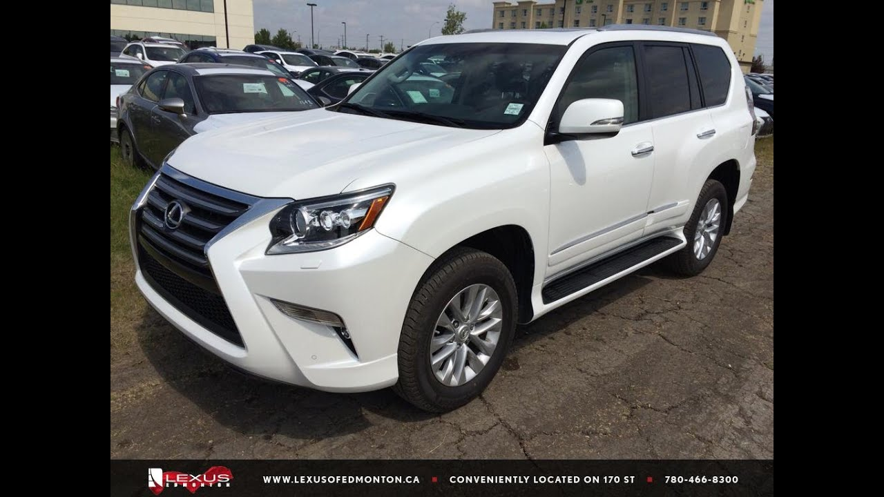 executive demo 2015 lexus gx 460 4wd white premium package. Black Bedroom Furniture Sets. Home Design Ideas